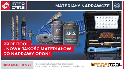 Profitool – nowa jakość materiałów do naprawy opon