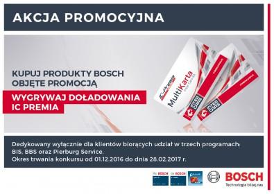 Programy Bosch - zdobywaj doładowania IC Premia