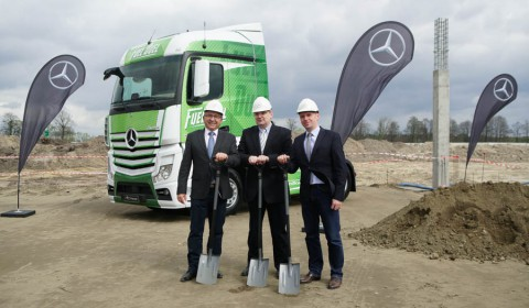 Mercedes buduje nowy serwis