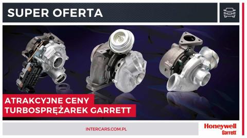 Turbosprężarki Honeywell Garrett w dużo niższych cenach