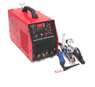 Aliuminio suvirinimo įrenginys IDEAL TECNOTIG 220 AC/DC PULSE