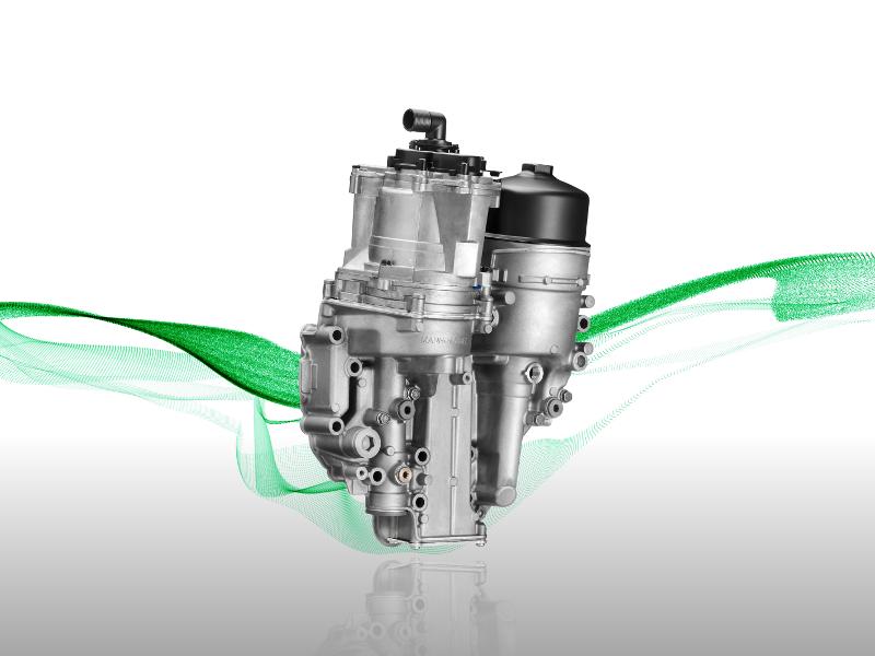 Zintegrowany zestaw do filtracji oleju silnikowego