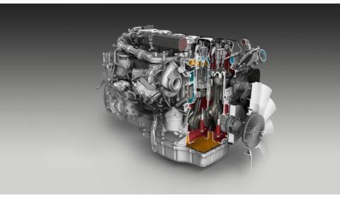 Silnik Scania Euro 6