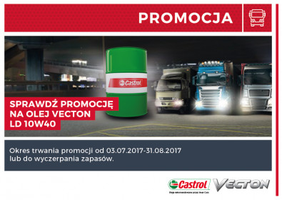 Castrol Vecton - zdobądź dodatkową gratyfikację