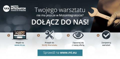 Motointegrator owtarty dla wszystkich warsztatów w Polsce