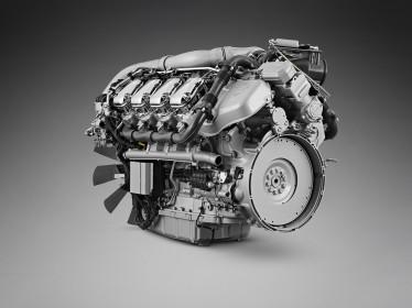 Scania zmodernizowała silnik V8