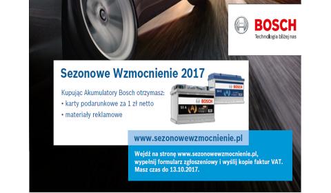 Sezonowe Wzmocnienie 2017 Bosch