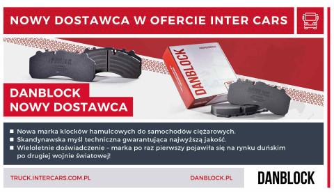 Danblock - nowy dostawca w Inter Cars