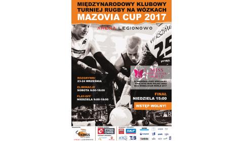 Inter Cars wspiera 7. Międzynarodowy turniej rugby na wózkach Mazovia Cup 2017