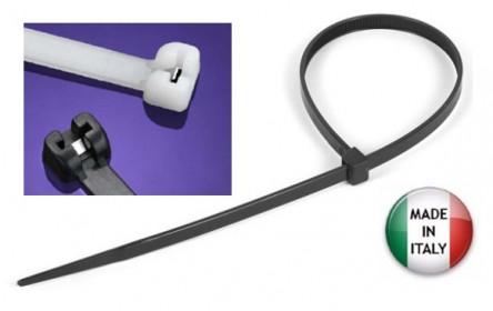 Naujiena: universali plastikinė sąvarža, sustiprinta metaliniu fiksavimo liežuvėliu