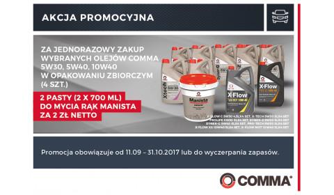 Wybrane oleje Comma