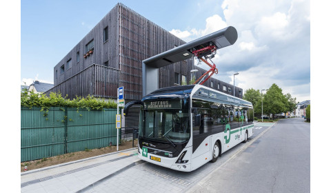 Elektryczne autobusy Volvo