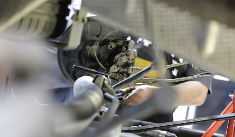Szkolenie - montaż zawieszenia pneumatycznego AIRREX w VW CADDY