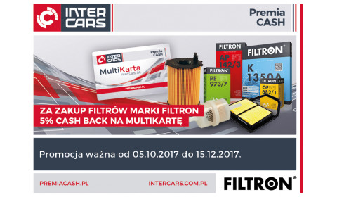 Filtron - 5% CASH BACK