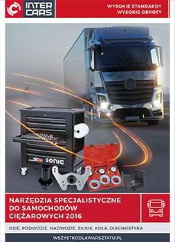 Narzędzia specjalistyczne do samochodów ćiężarowych
