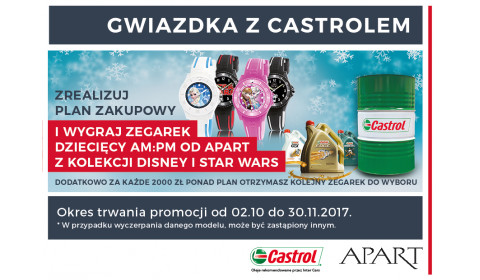 GWIAZDKA Z CASTROL I INTER CARS