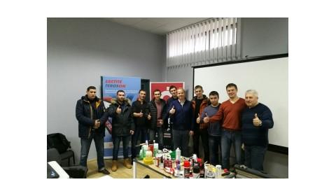 ТРЕНІНГ ПО МАТЕРІАЛАМ LOCTITE & TEROSON