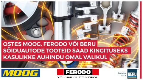 MOOG, FERODO, BERU kampaania