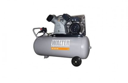 Stūmoklinis oro kompresorius su 100 litrų resiveriu WALTER GK420-2,2/100