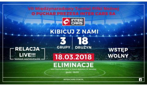 VII Międzynarodowy Turniej Piłki Nożnej o Puchar Prezesa Inter Cars – kibicuj z nami!