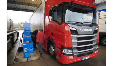 Scania na czele