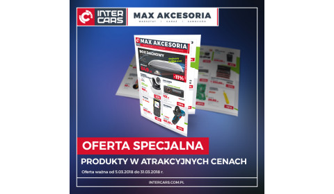 Gazetka promocyjna MAX AKCESORIA - marzec