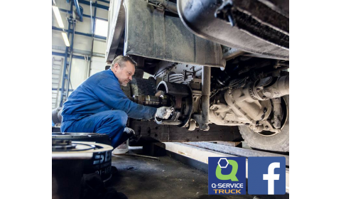 Q-Service Truck z nowym profilem na Facebooku