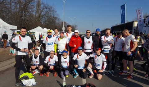 Biegiem przez stolicę: nasi zawodnicy w 13. Półmaratonie Warszawskim