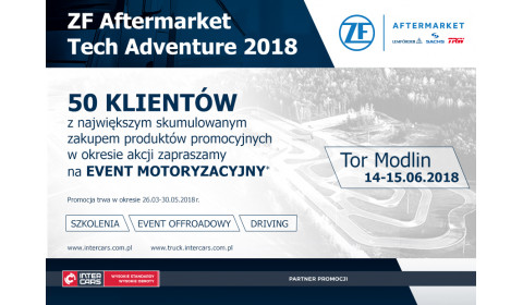 Konkurs ZF Aftermarket Tech Adventure 2018
