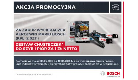 Bosch - wycieraczki Aerotwin