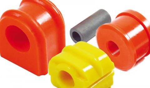 Elementy zawieszeń z poliuretanu firmy TEDGUM
