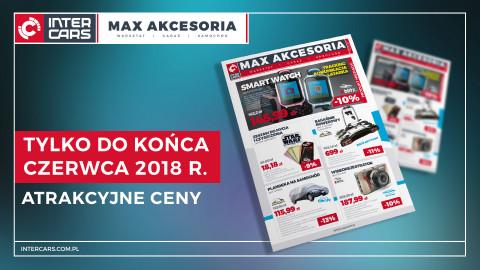 Gazetka promocyjna MAX AKCESORIA – maj