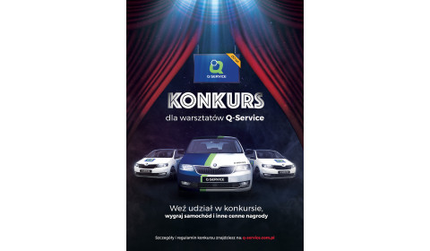 Konkurs dla warsztatów Q-Service