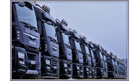 Wydajne i szybkie mycie samochodów ciężarowych