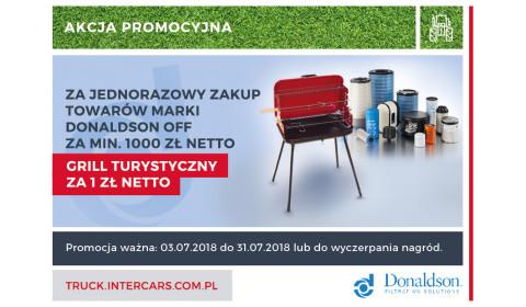 DONALDSON OFF - GRILL ZA 1 ZŁ NETTO