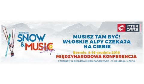 Snow & Music Days 2018 – Musisz tam być!