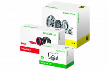 Schaeffler grupas rezerves daļu preču iepakojumi iegūst jaunu izskatu