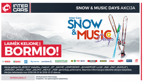 SNOW AND MUSIC DAYS akcija