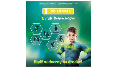 Mniej wypadków na polskich drogach, ale do Europy daleko. Rusza 9. odsłona kampanii Odblaskowi.pl