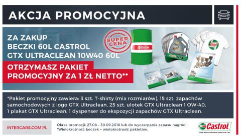 Zdobądź pakiet promocyjny Castrol za 1zł*