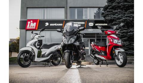 Inter Motors Jaunums SYM motorolleri