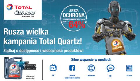 Oleje TOTAL z formułą Age Resistance Technology w jesiennej, telewizyjnej kampanii reklamowej TOTAL