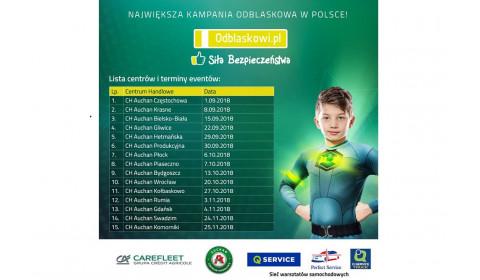 Q-Service partnerem akcji Odblaskowi.pl