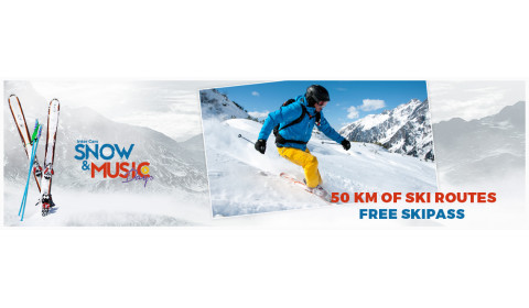 Great ski slopes!