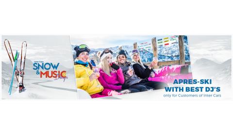 Apres-ski with a DJ