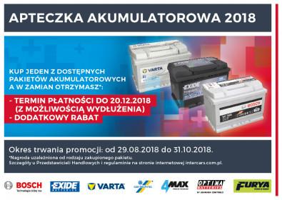 Inter Cars uruchamia promocję Apteczka 2018