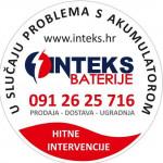 INTEKS BATERIJE I AKUMULATORI - dostava i servis