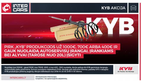 KYB akcija