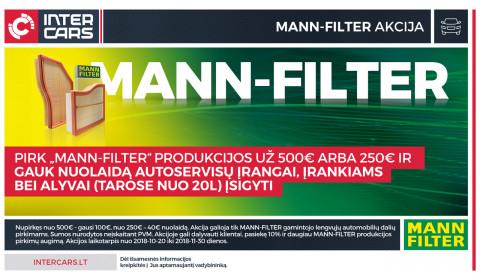 MANN-FILTER akcija