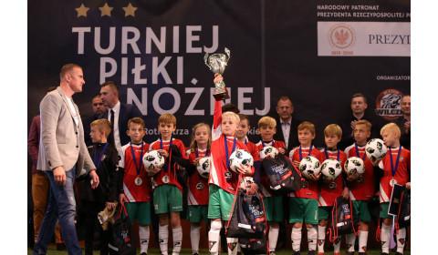 Młodzi piłkarze rywalizowali podczas turnieju im. Rotmistrza Witolda Pileckiego